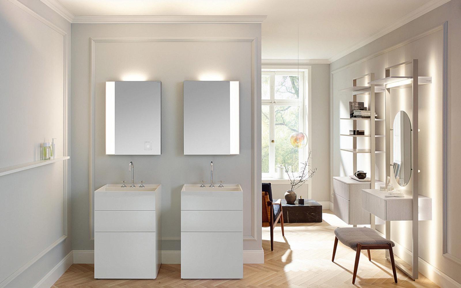 Gestaltungselement Badspiegel   müller + sohn   Frechen Köln